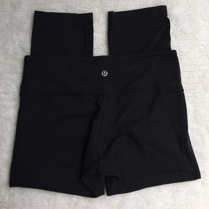 Lululemon Wunder Under Crop Leggings Pants Size 8